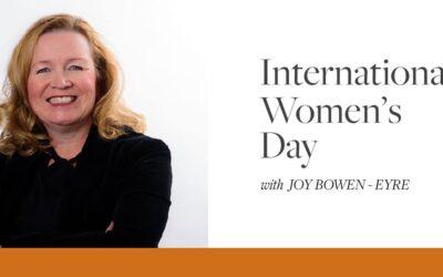 International Women's Day with Joy
